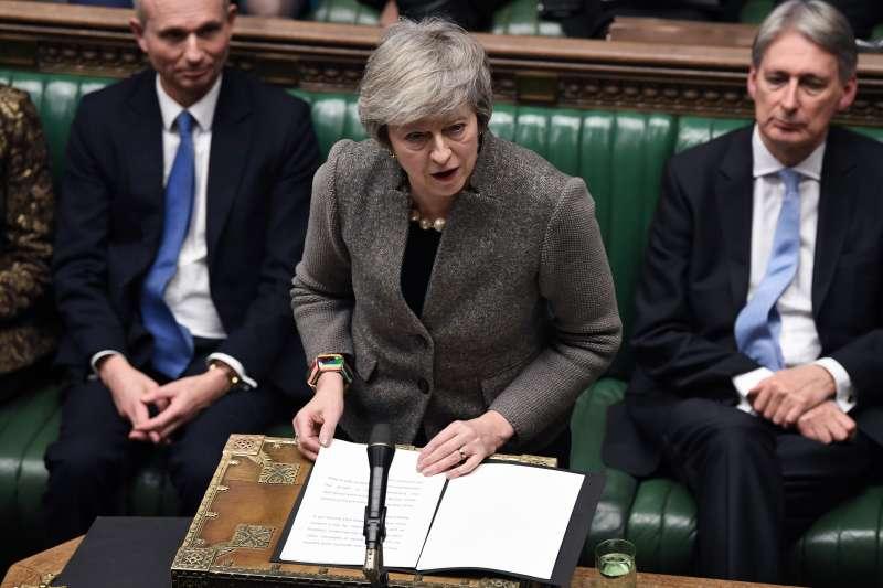 英國首相梅伊宣布,2019年1月14日那周表決《退出協議》(AP)