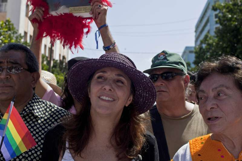 古巴前總統勞爾.卡斯楚的女兒瑪莉拉是古巴同婚合法化主要推手(AP)