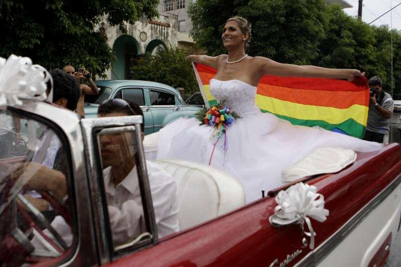 古巴同婚:由於基督教福音派教會強力反對,古巴國會決定婚姻相關文字不寫入新《憲法》(AP)
