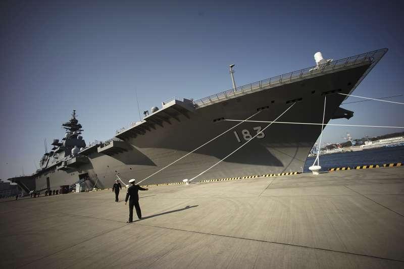 日本「出雲號」(JS Izumo)直昇機護衛艦(AP)
