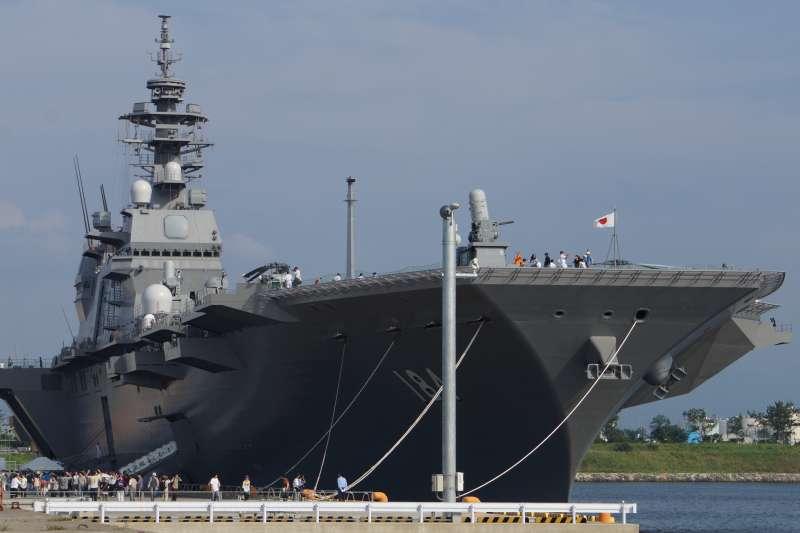 日本海上自衛隊出雲級護衛艦「加賀號」(Hunini@Wikipedia/ CC BY-SA 4.0)