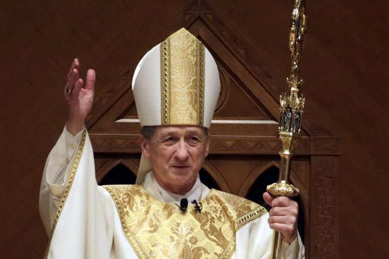 美國伊利諾州芝加哥教區總主教裘皮奇(Blase Cupich)(AP)