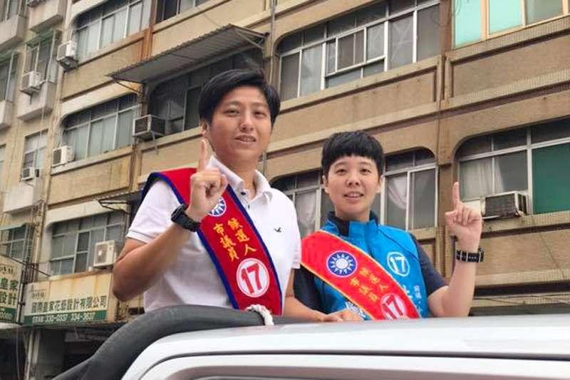 準高雄市長韓國瑜20日公布小內閣人選,其中原先將接任海洋局長的國民黨中評委朱挺玗(左)因有涉賄前科,不希望團隊因她模糊焦點,已宣布自行退出小內閣。(翻攝朱挺玗臉書)