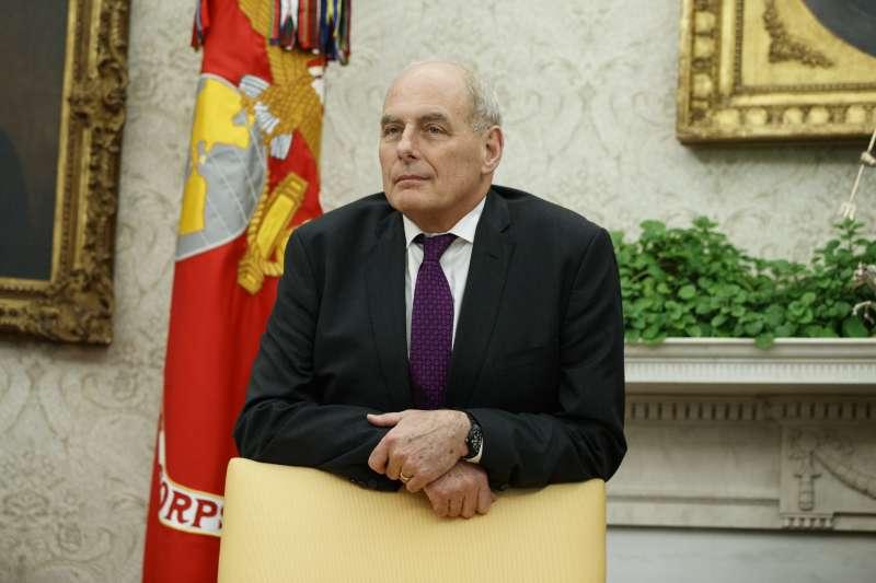 川普的第二任白宮幕僚長凱利(AP)