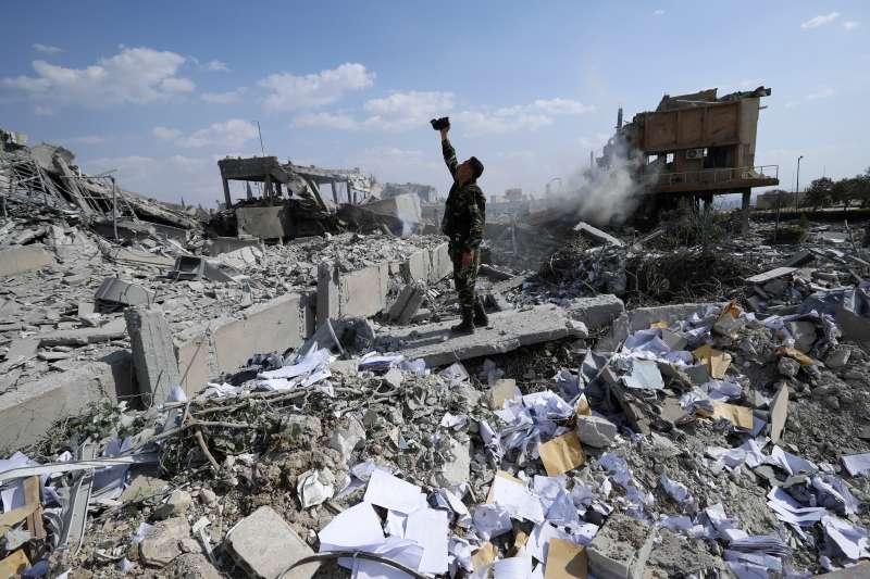 敘利亞內戰(AP)
