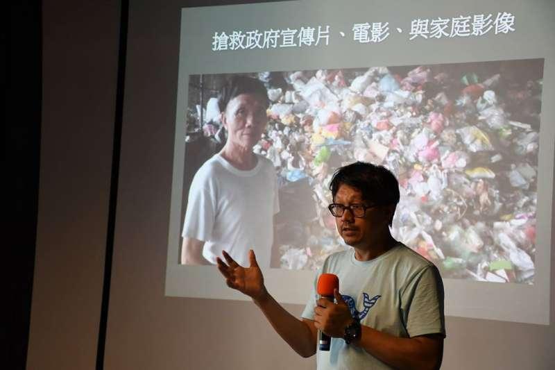 20181221-南藝大媒體音像中心主任曾吉賢。(電影蒐藏家博物館提供)