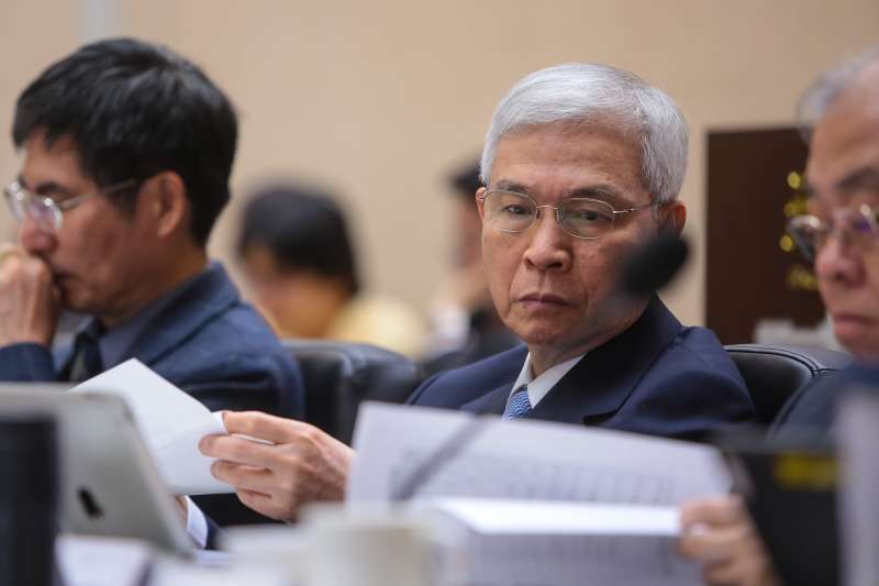 20181222-央行總裁楊金龍22日出席「監察院107年巡察行政院會議」。(顏麟宇攝)
