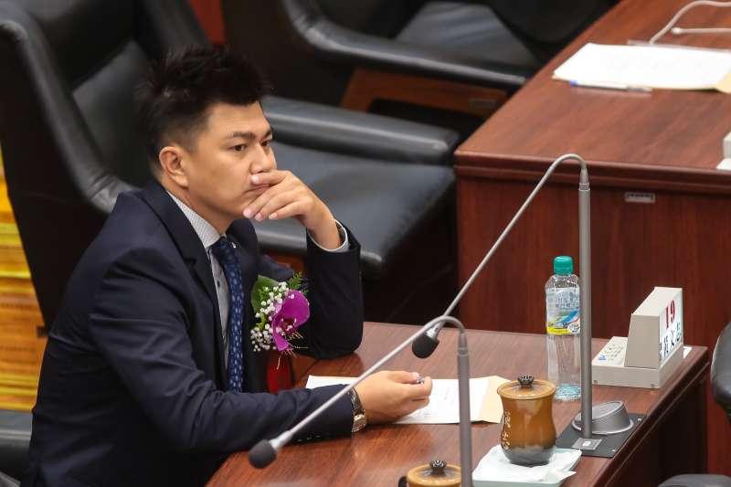 20181225-高雄市議員黃文志。(顏麟宇攝)