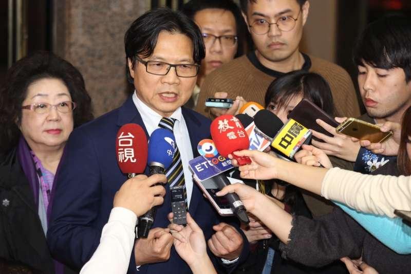 教育部長葉俊榮25日晚間受訪時表示,當初來到教育部,要處理的其中一件事就是台大校長案,「如果這個十字架要人扛,就我來扛吧」。(教育部提供)