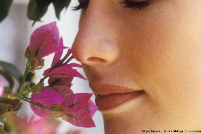 嗅覺在潛意識中起著很大的作用。(圖/德國之聲)