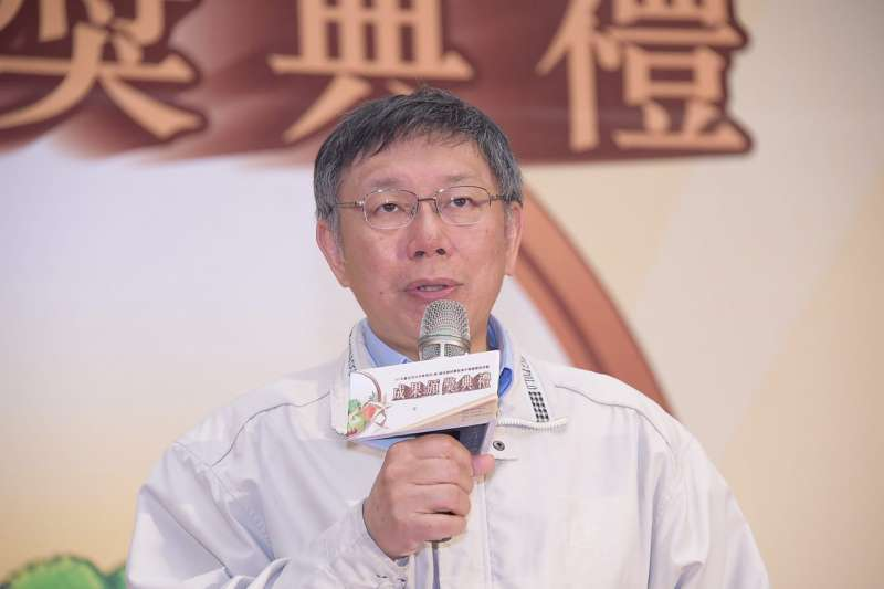 台北市長柯文哲表示,接下來目標要提升北市市場和夜市水準,標準是「讓日本的觀光客能夠坐下來吃飯」。(台北市政府提供)