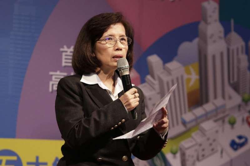 林郭文艷宣布華映重整,公司派與市場派亂了陣腳。(新新聞資料照)