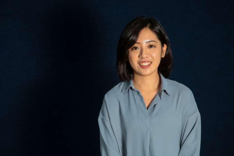 20181227-台北市政府專訪,副發言人黃瀞瑩(學姐)。(顏麟宇攝)