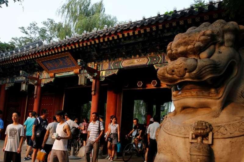 北京大學。(美國之音)