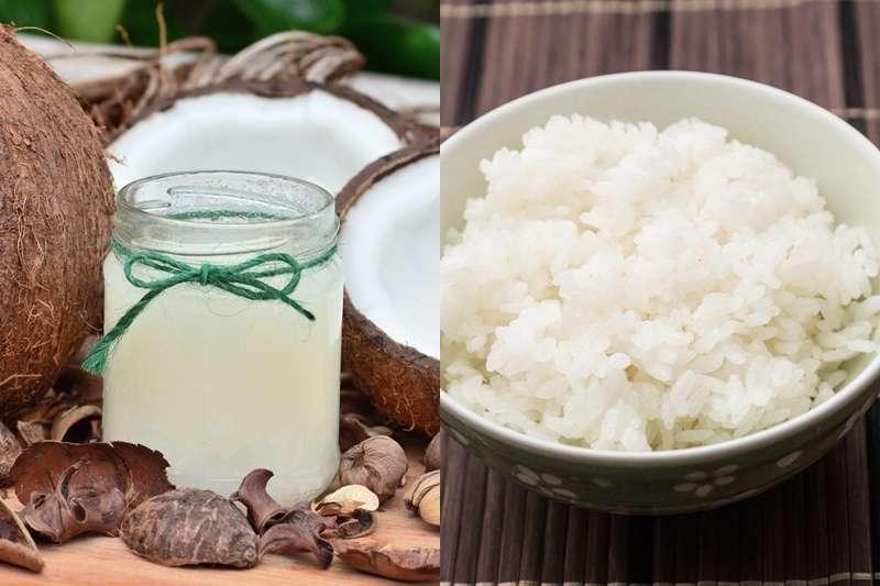 椰子油+白飯其實可以減少熱量攝取?(示意圖/pixabay)