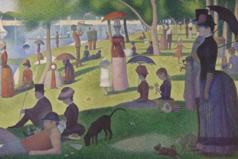 最近,美國芝加哥美術館將近 5 萬幅藝術作品放在了線上供大家觀賞,還能免費下載並且商用。快載來做張長輩圖,彰顯你的好品味!(圖/愛范兒提供)