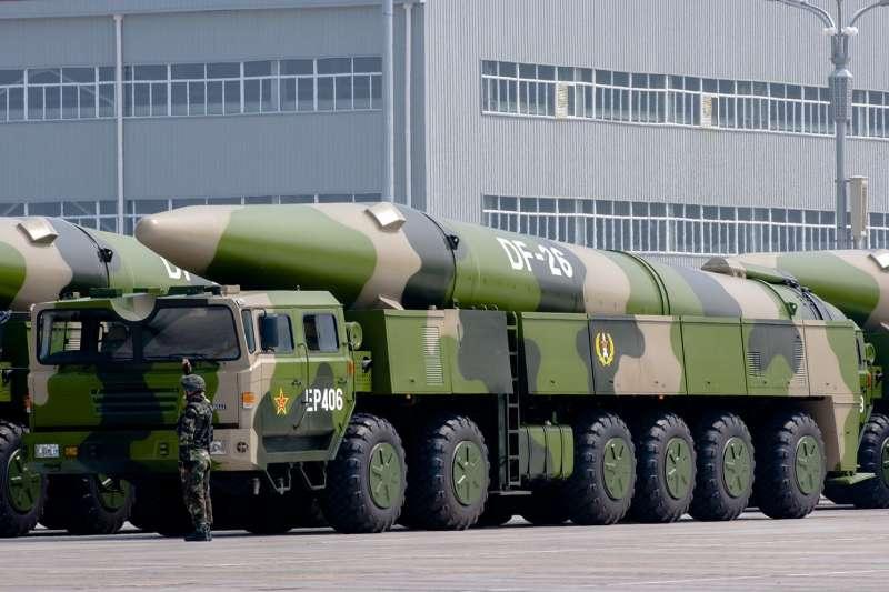 東風-26彈道飛彈。