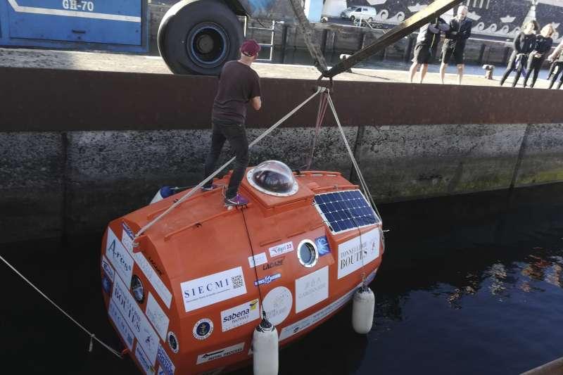 薩方將在橫越大西洋的冒險中,度過他的72歲生日。(AP)