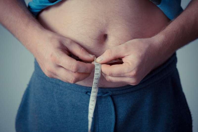 肥胖 慢性病 疾病 腰圍 心血管疾病 代謝症候群。示意圖。(取自jarmoluk@pixabay/CC0)