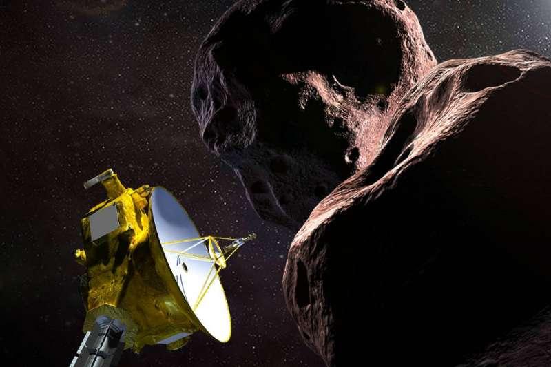 美國航空暨太空總署(NASA)「新視野號」(New Horizons)開啟探索宇宙的任務。(資料照,NASA)