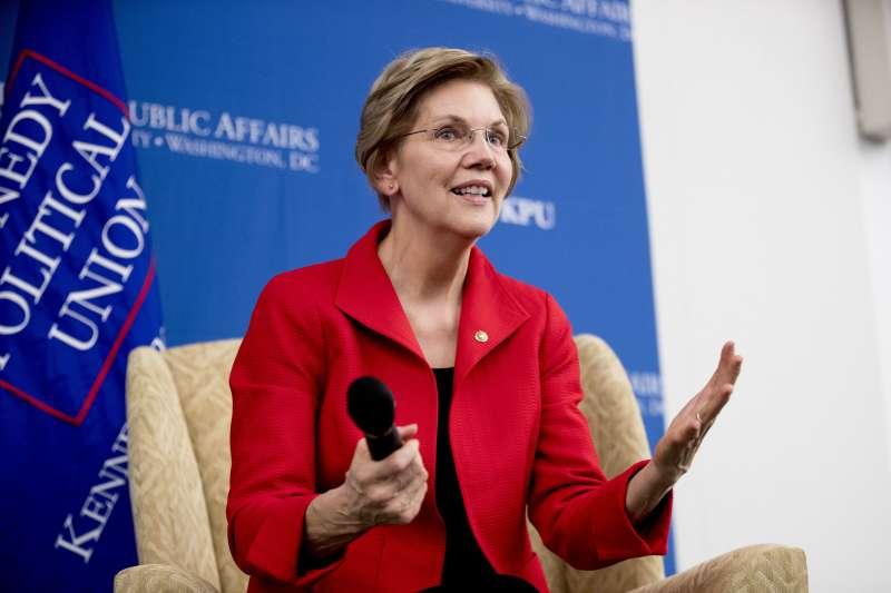 美國民主黨麻州聯邦參議員華倫(Elizabeth Warren)(AP)