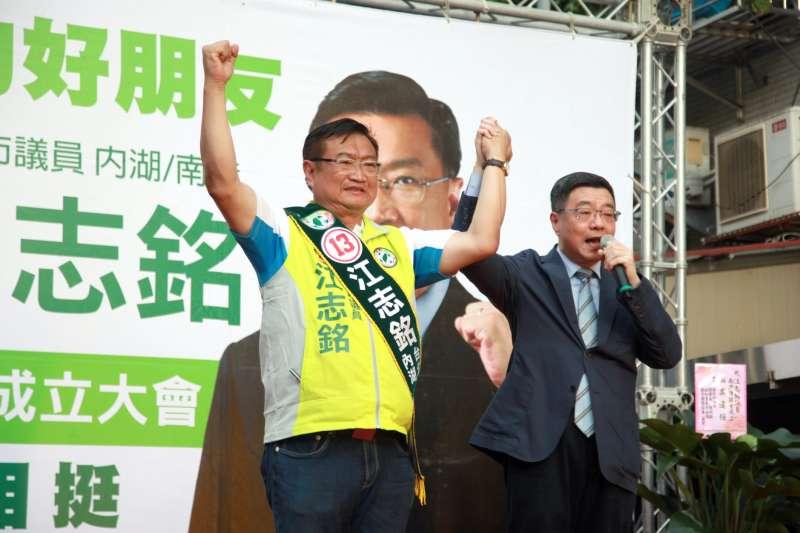 游盈隆爭黨主席拉攏陳水扁 扁系議員卻發文挺卓榮泰-風傳媒
