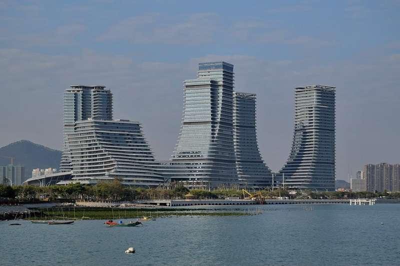 圖為海滄新城。(Baycrest∕維基百科)