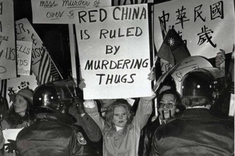 台美斷交時,美國還有不少支持台灣的聲音。