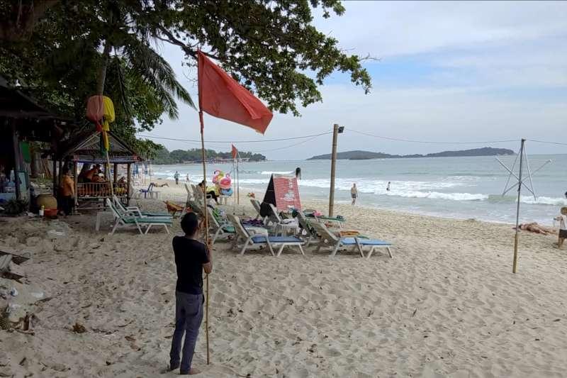 2019年首個颱風「帕布」將侵襲泰國南部,數萬旅客撤離度假島嶼(AP)
