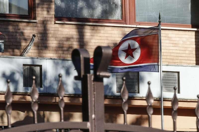 北韓駐義大利大使館(AP)