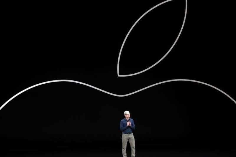 蘋果公司16年來首度調降財測。(美聯社)