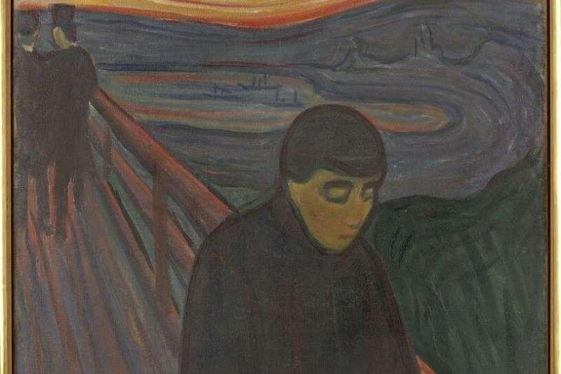 以《吶喊》為知名代表作的孟克,認為做為一名藝術家一定要坦率的表露自我,不應去追求表面上的完美工整。(圖/城市美學新態度)