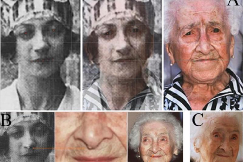 1997年辭世的卡爾蒙,是金氏世界紀錄上活最久的人類,但最近卻遭俄羅斯學者踢爆,她其實是被想要規避遺產稅的女兒冒名頂替了,事實上本人根本沒活那麼久。(圖/截自researchgate)