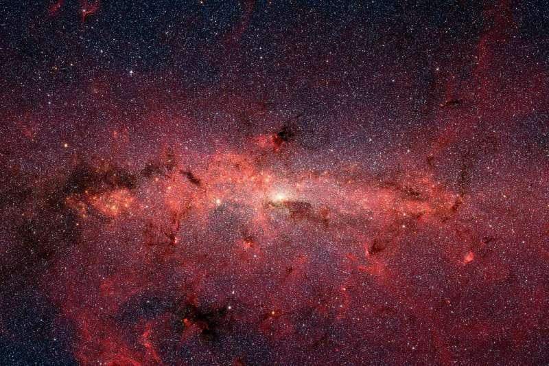銀河系(Wikipedia / Public Domain)