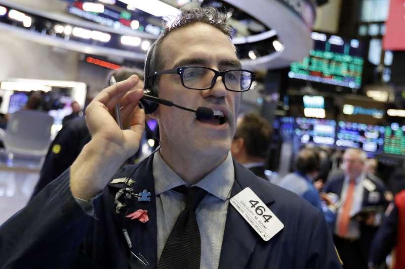 2019年1月4日,美股全面大漲(AP)