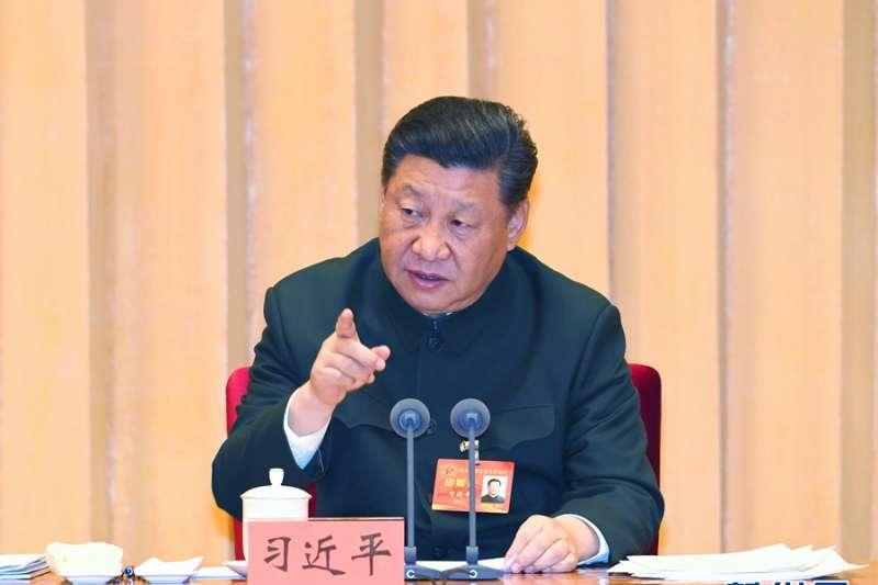 中國國家主席發表《告台灣同胞書》四十周年講話。(新華社)