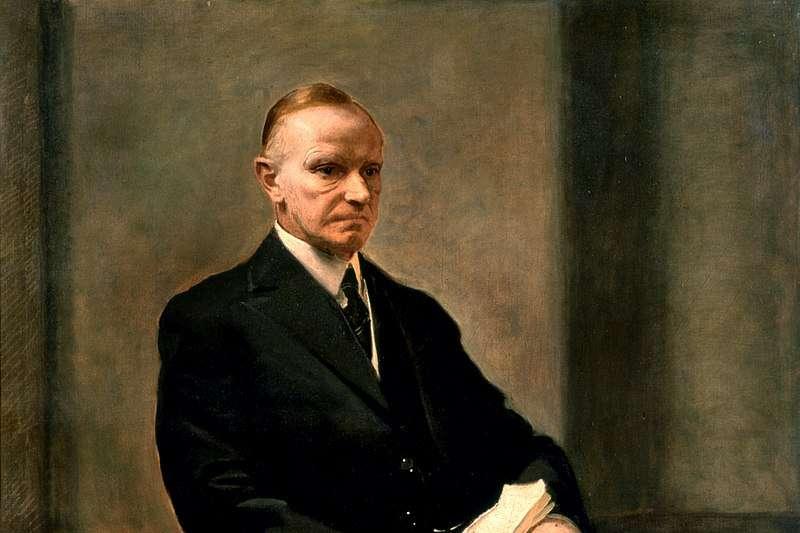 美國前總統柯立芝(Calvin Coolidge)(Wikipedia / Public Domain)