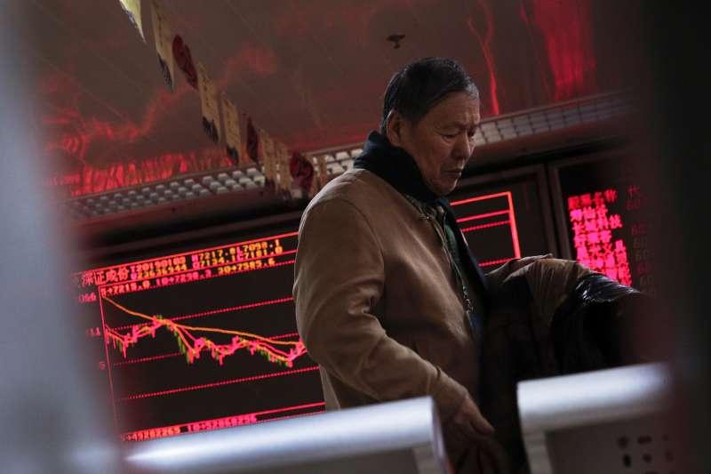 中國經濟數據差,亞股2019年第一個交易日跌幅超過1%後,3日以後大多走高。(AP)