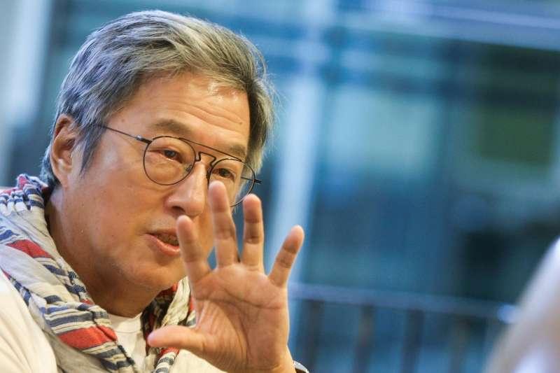 王偉忠和郭子乾回憶政治諷刺、模仿如何登上台灣電視螢幕,在笑聲中見證台灣言論自由演變。(圖/文化+,謝佳璋攝)