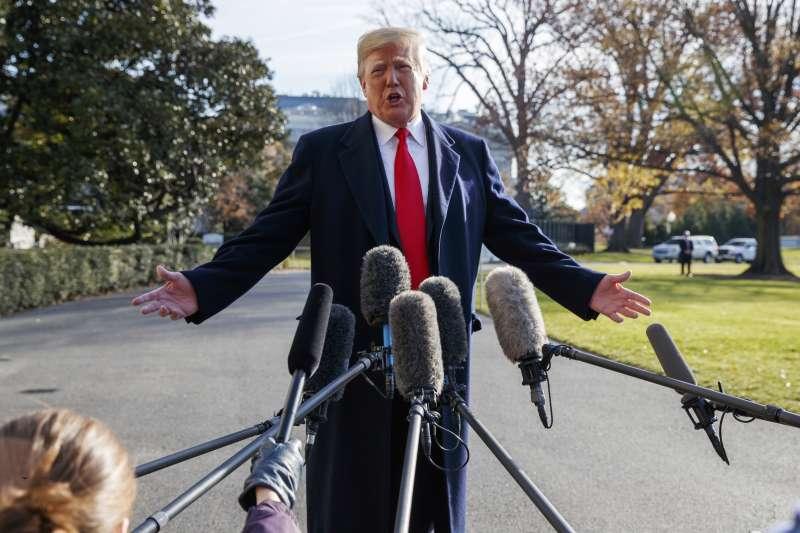 為了迫使國會給錢蓋城牆,美國總統川普揚言宣布緊急狀態(AP)
