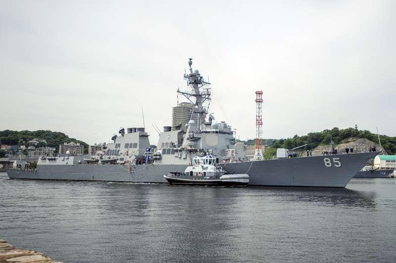 美軍麥康貝爾號驅逐艦。(美國海軍官網)