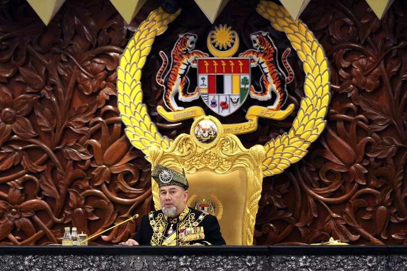 2019年1月6日,馬來西亞國家元首穆罕默德五世宣布即日起退位(AP)