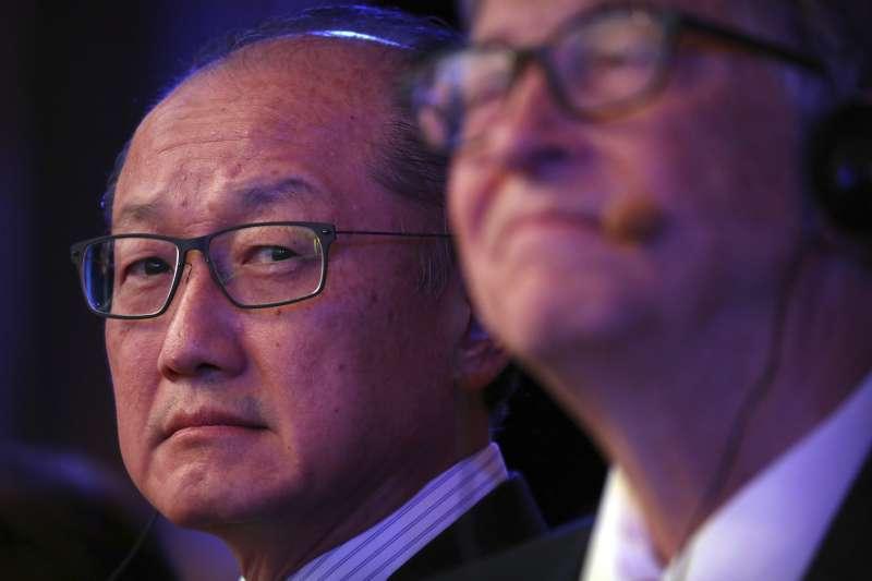 2019年1月7日,世界銀行集團總裁金墉( Jim Yong Kim)宣布自2月1日起辭職(AP)