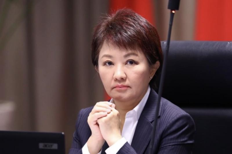 台中市長盧秀燕今(8)日表示「台中一定要強力整治空汙」,提到中火4號機組,應該將它「除役」,並強調一定要堅持不能手軟。(圖取自盧秀燕instagram)