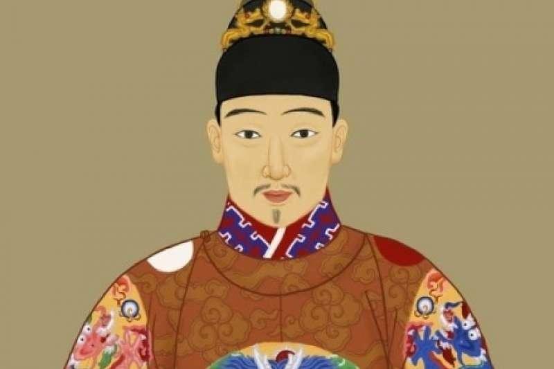 明思宗崇禎帝朱由檢。(取自維基百科)