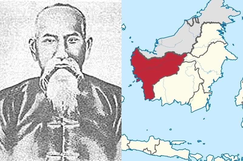 蘭芳共和國竟然才是亞洲第一民主共和國?(圖/維基百科)