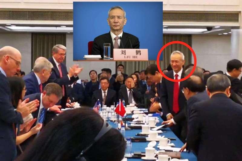 中共副總理劉鶴和美國貿易代表萊特海澤(Robert Lighthizer)訂於本月底,進行第二輪的高階談判