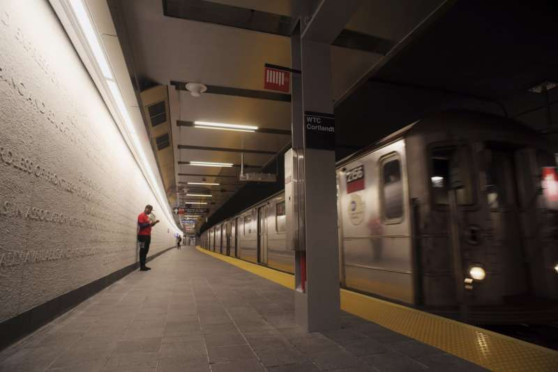 美國紐約地鐵。(AP)