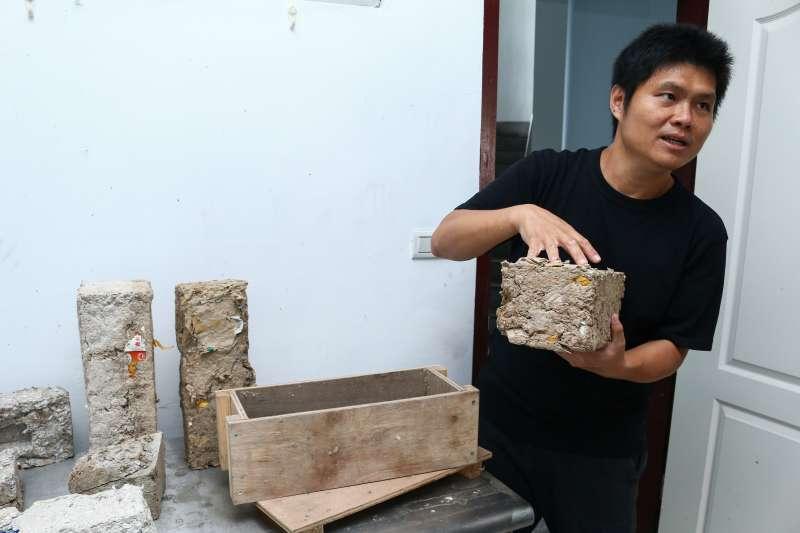 20190110-台灣當代文化實驗場,空總舊址實驗建築,陳宣誠教授專訪。(蔡親傑攝)