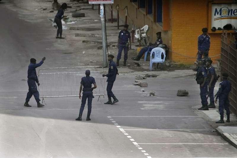 剛果民主共和國總統大選出爐:鎮暴警察進駐首都金夏沙(AP)